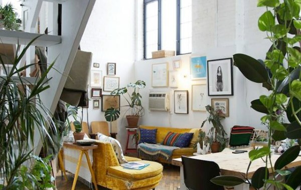 Eclectic Design in a Brooklyn Loft