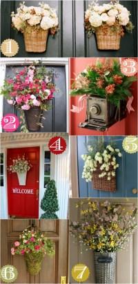 36 Creative Front Door Decor Ideas {not a wreath} - Home ...