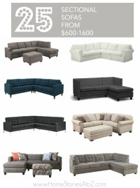 25 Affordable Sectional Sofas for Under $1600
