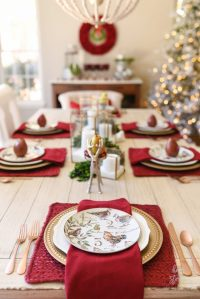 How to Set an Informal Table: 12 Days of Christmas Table ...