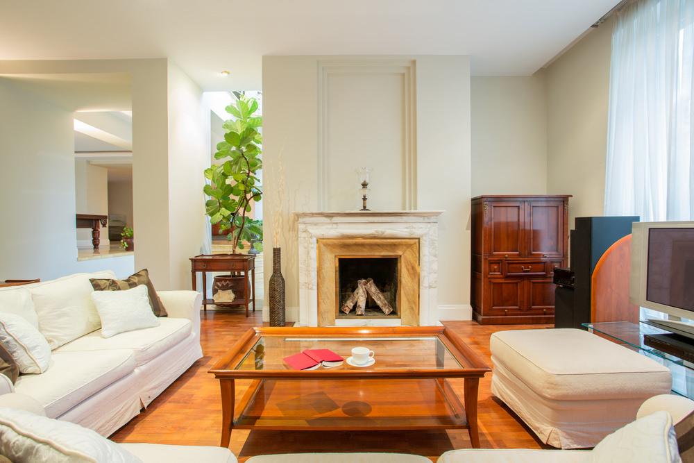 100+ White Living Room Designs (Photos)