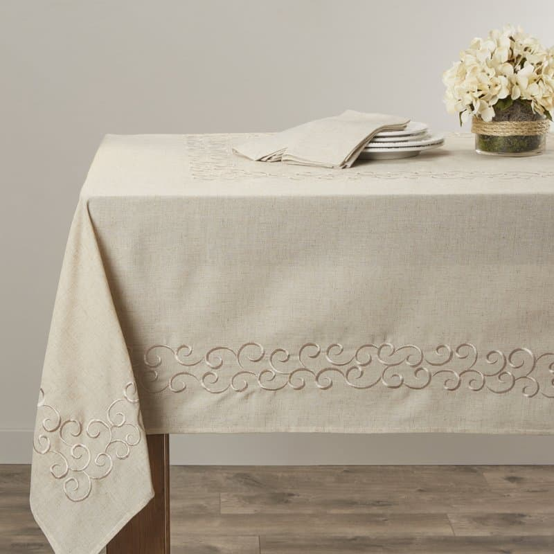 37 Types Of Tablecloths For Your Dining Table 2018