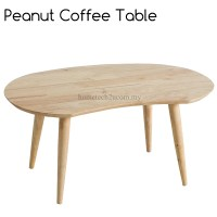 Peanut Bean Wooden Coffee Table | 11street Malaysia - Tables