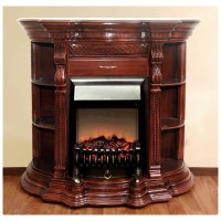 Polrey, 915-AM, , Electric Fireplace With Marble Top