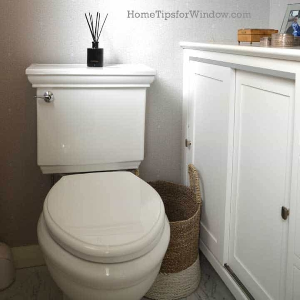 Space Saving Ideas For A Small Bathroom Remodel   Home Tips For Women    Toilet