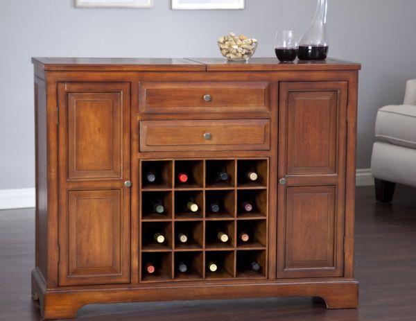 Carlow Heritage Oak Home Bar
