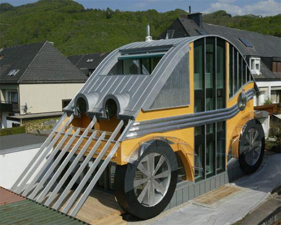 german architecture auto house 2