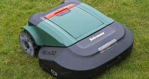 Robotic lawn mowers