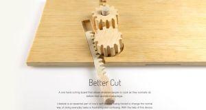 one-hand cutting board
