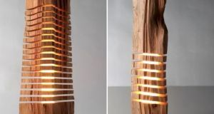Wooden Lamps