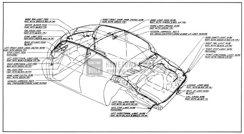 1950 Buick Wiring Diagram Wiring Diagram