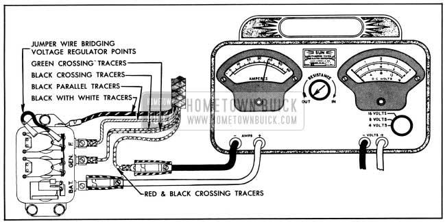 voltage regulator wiring diagram 1950 buick