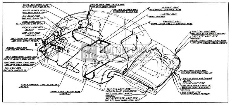 52 buick wiring diagram