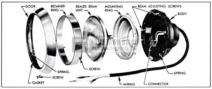 1951 Buick Lights - Lighting System - Hometown Buick
