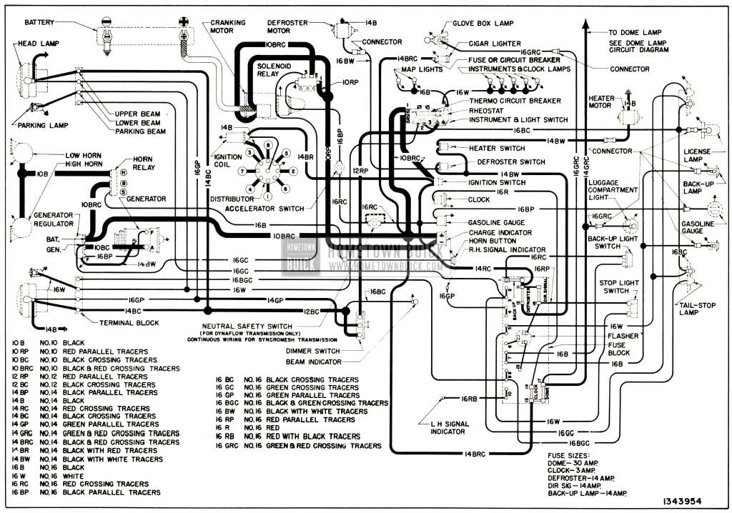 1952 Buick Wiring Diagram Wiring Diagrams