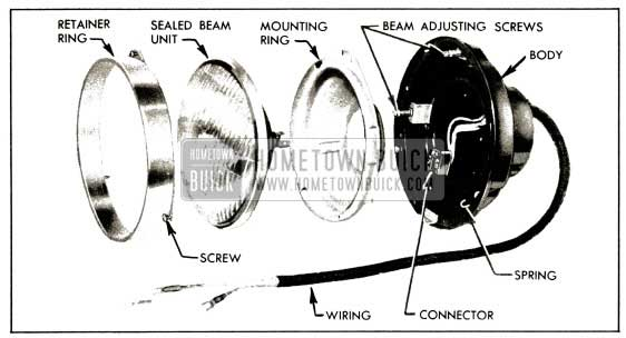 1953 buick wiring connectors