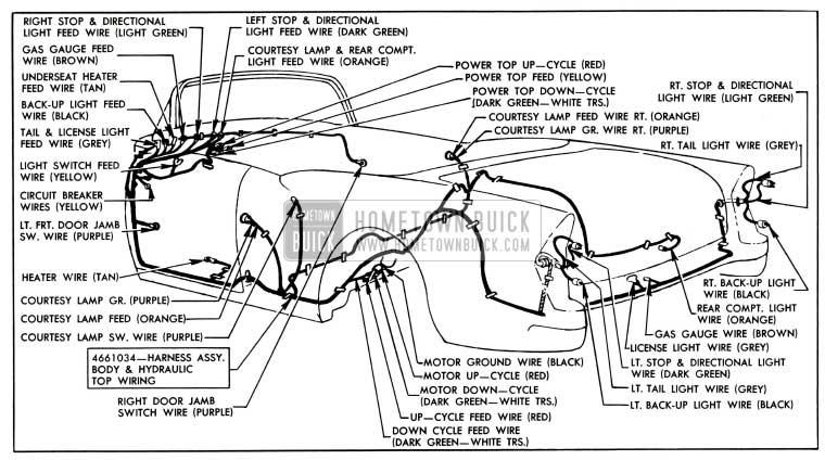 1955 Buick Wiring Diagram Wiring Diagram