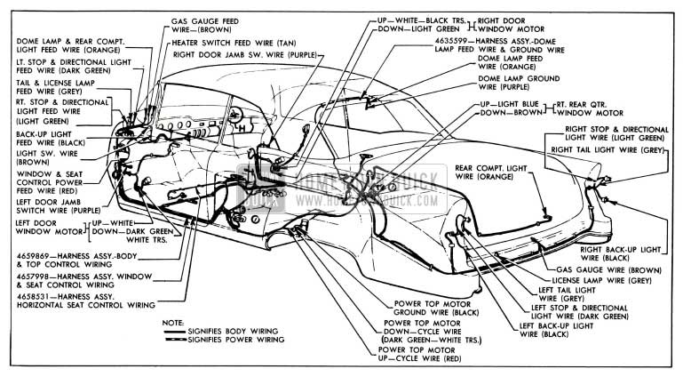 1955 buick wiring