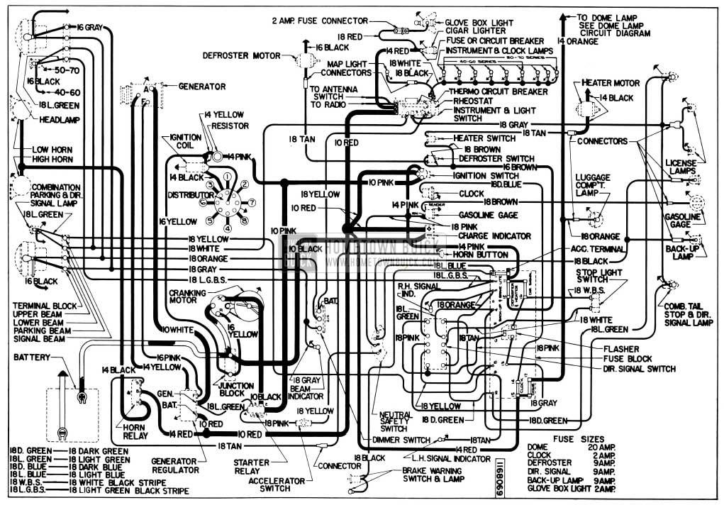 1955 Buick Wiring Wiring Diagram