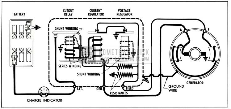 1955 buick generator wiring
