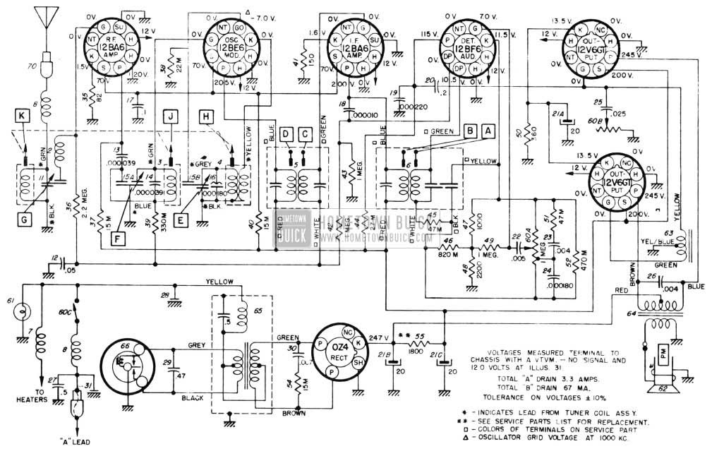 Chassis Wiring Diagram Syncromesh Chassis Wiring Diagram Dynaflow