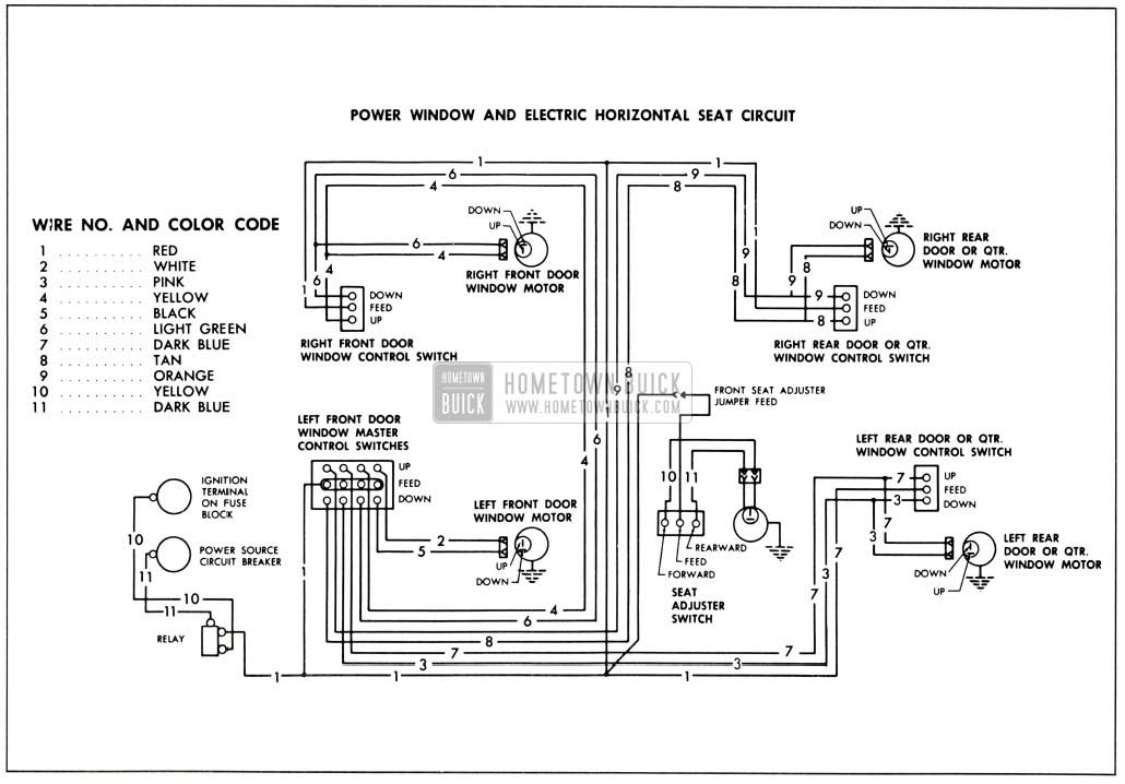 1958 buick wiring diagram
