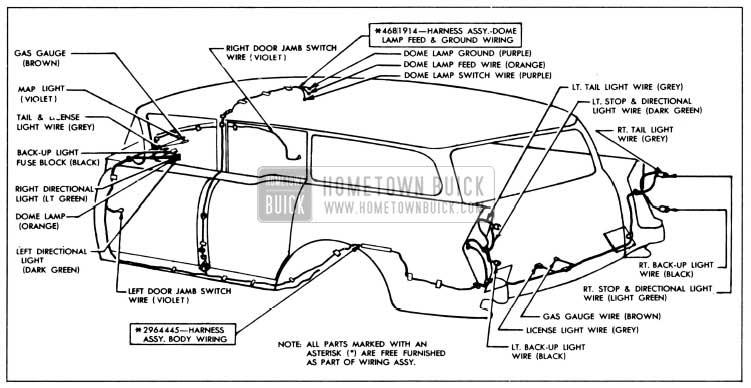 1956 buick wiring diagram