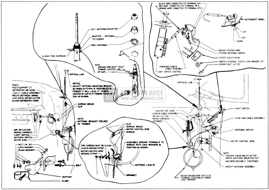 1956 buick wiring harness