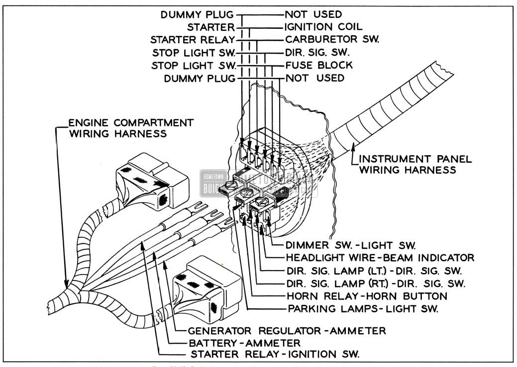1954 Buick Special Wiring Harness Wiring Diagram