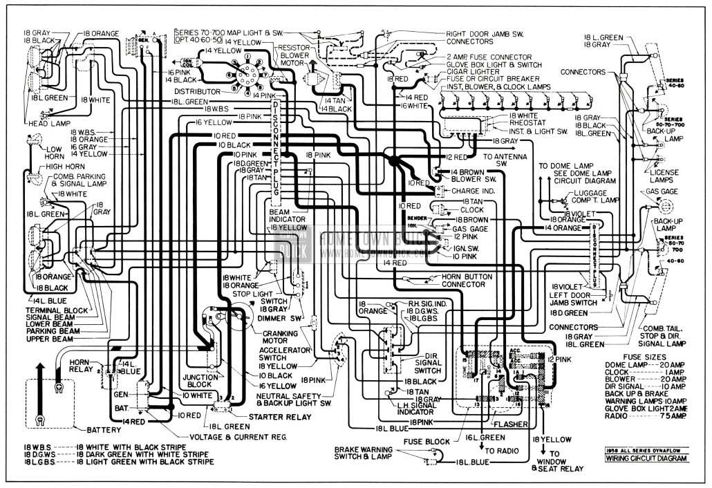 mga wiring diagram for 1960