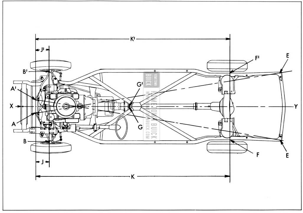 buick frame diagram