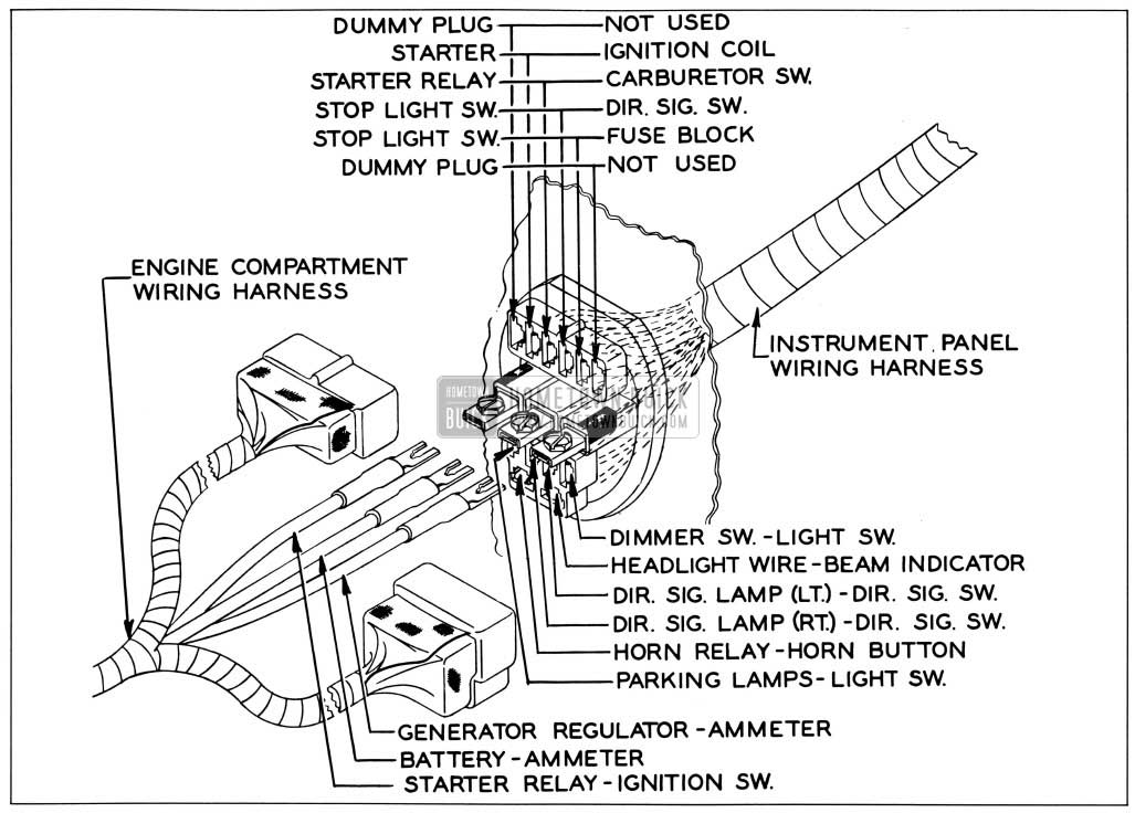 1958 Buick Wiring Diagrams - Hometown Buick