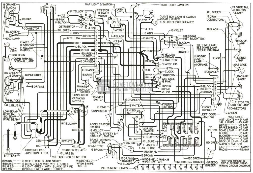 1959 Buick Lesabre Wiring Diagram circuit diagram template