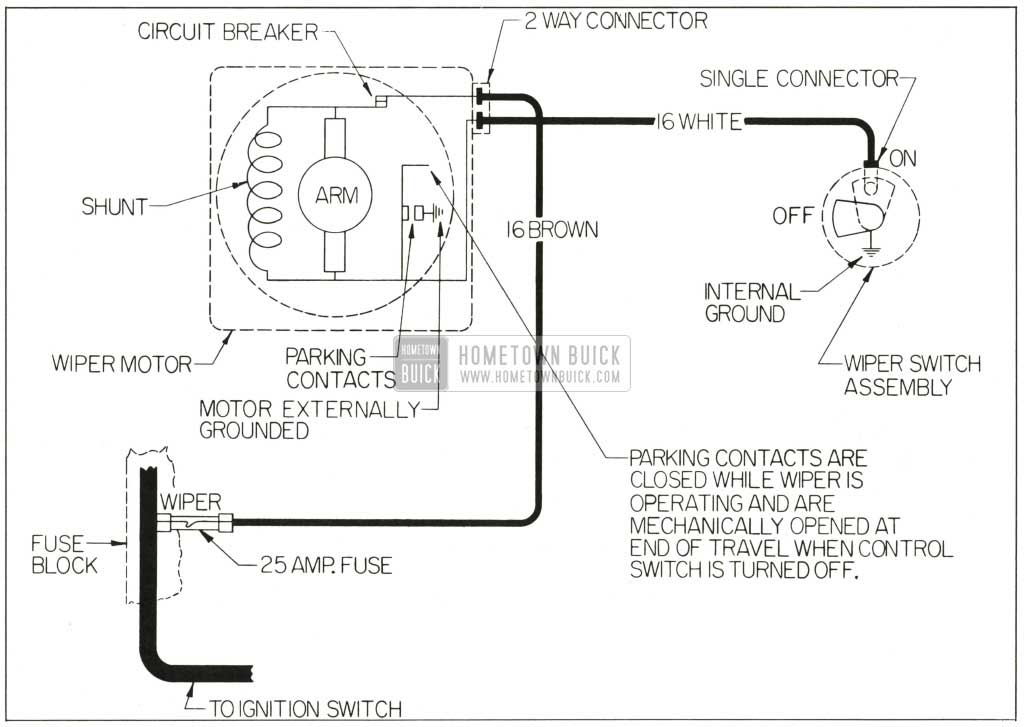 1977 corvette wiper motor wiring diagram