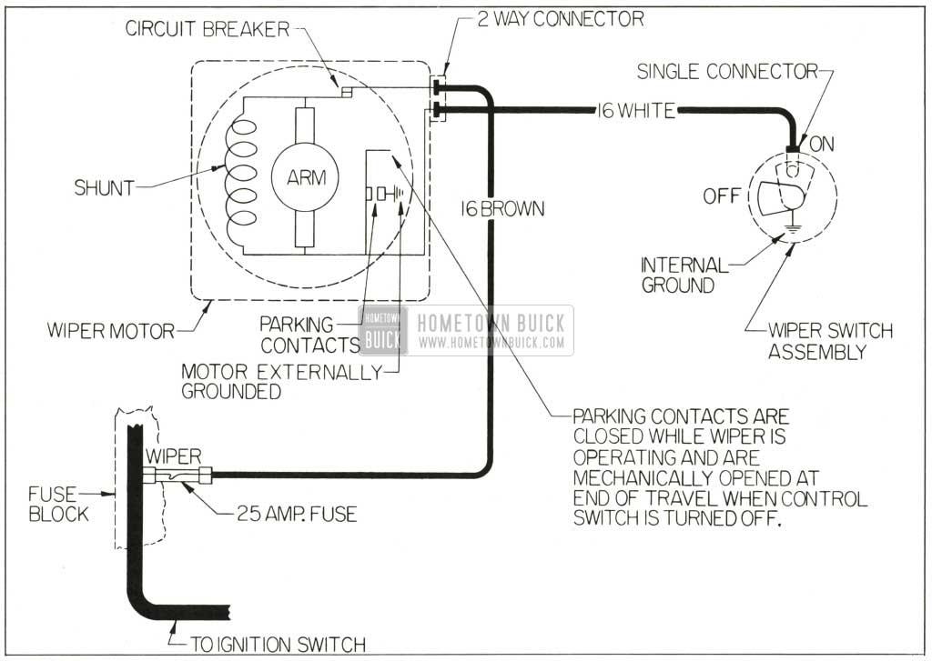 3 speed wiper motor wiring diagram