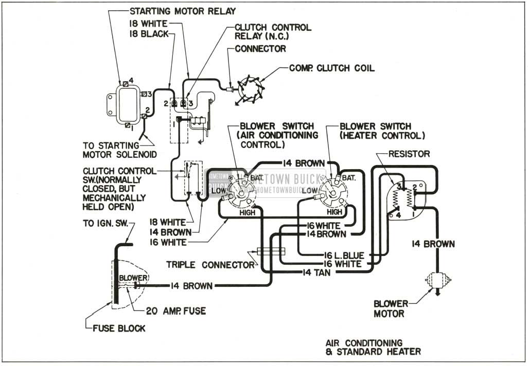 air conditioner to furnace wiring diagram wiring diagram for furnace