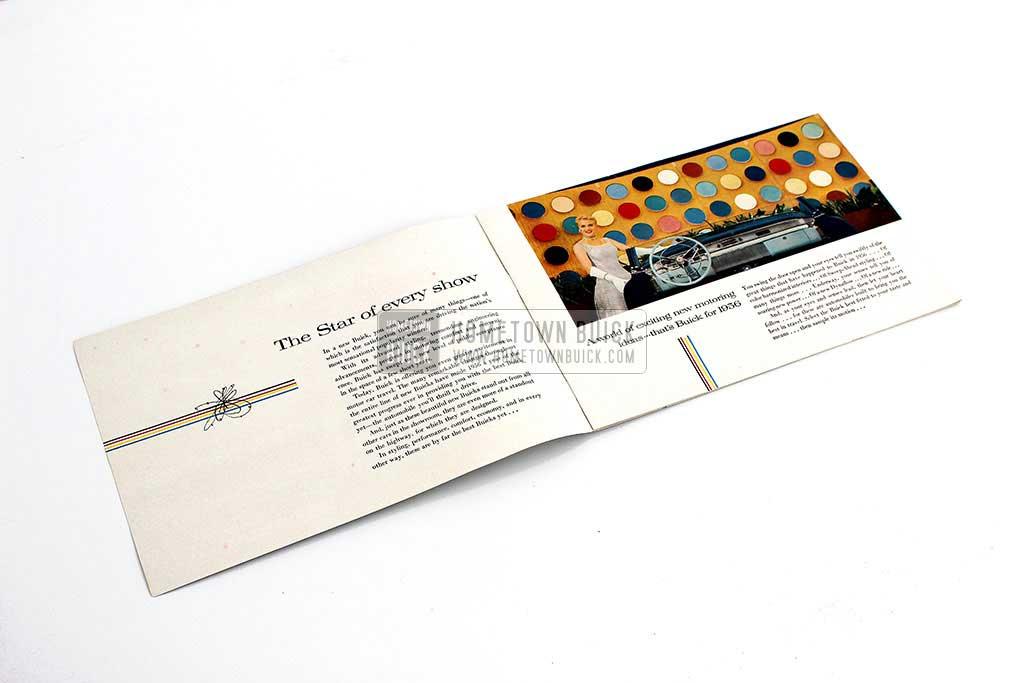 1956 Buick Color Sales Brochure - Hometown Buick