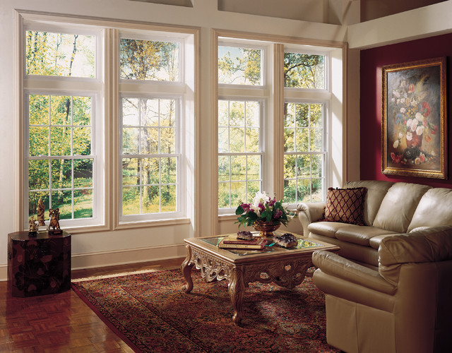 double hung window with transom