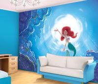 Disney Ariel Mermaid giant wall mural | Homewallmurals