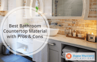 Best Bathroom Countertop Material with Pros & Cons
