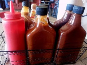 Basket of Sauces