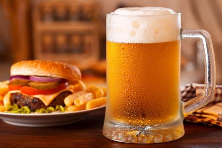 9 Celebrity Burger and Beer Pairings