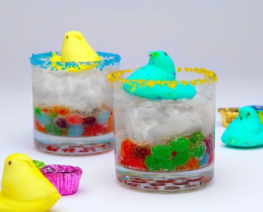 Peeps Easter Candy Cocktails