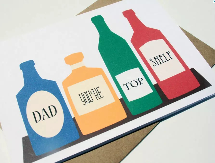 9 Funny Father\u0027s Day Cards for Dads Who Love Booze - father day cards