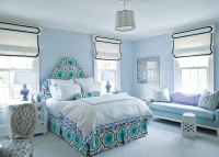 Blue Paint Colors for Girls Room - Home with Keki