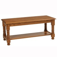 Traditional Square Coffee Table - Home Wood Furniture