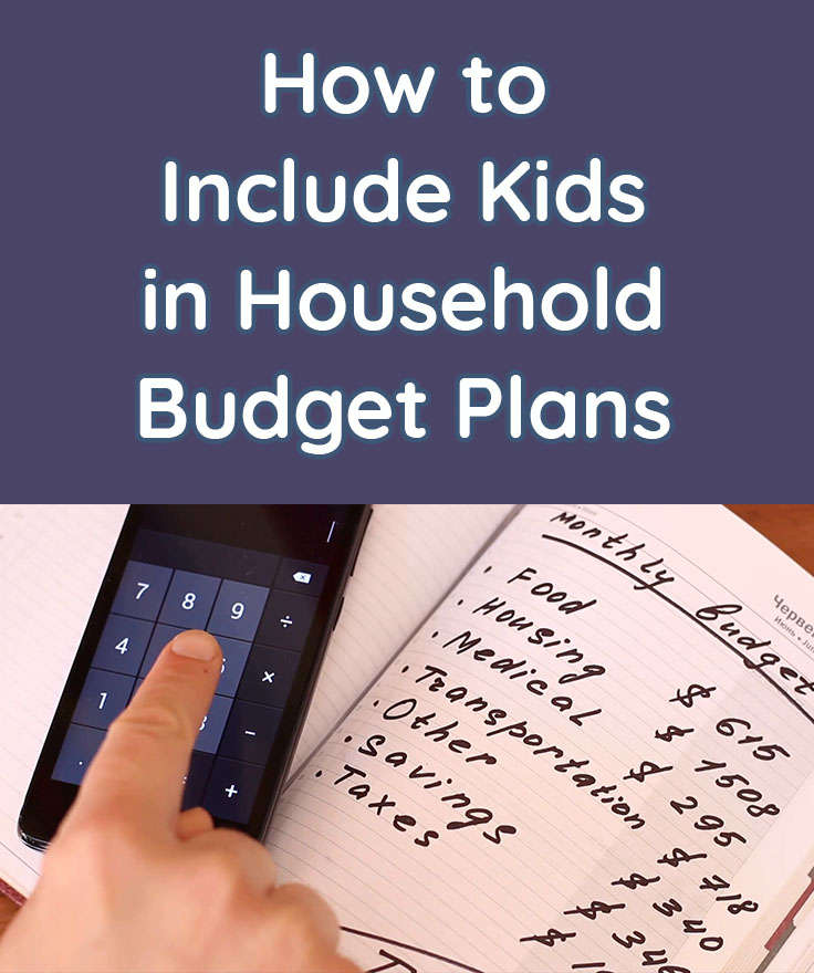 How to Include Kids in Household Budget Plans - Homey App for Families - budget plans for families