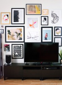 How to Plan and Hang a Gallery Wall