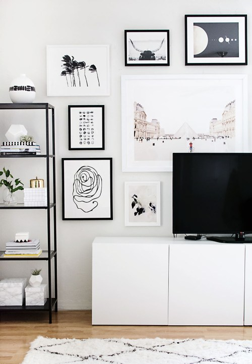 Appealing Image Gallery Wall Gallery Wall Looks That Are Easy To Implement Wall Gallery Layouts Gallery Wall Layout Generator