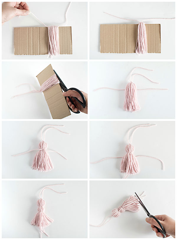 Diy tassel bookmarks pottery barn for How do you build a blog